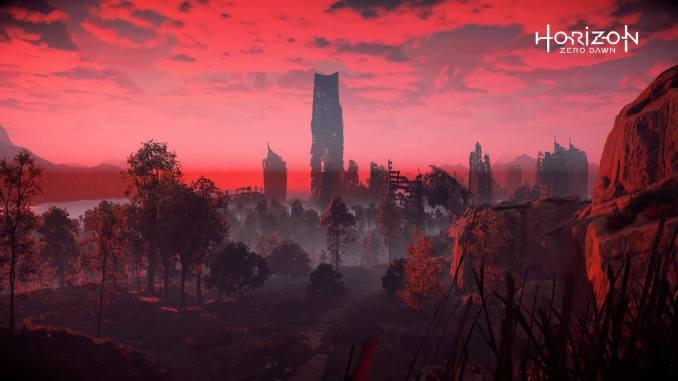 horizon zero dawn blood sky
