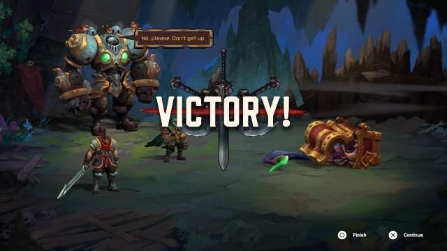Battle Chasers: Nightwar Victory